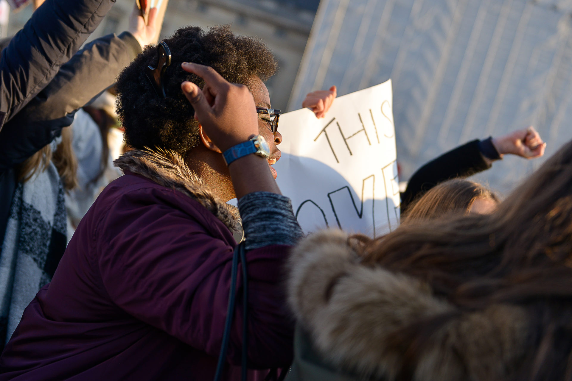 photographie-manifestante-americaine-anti-trump-women-march